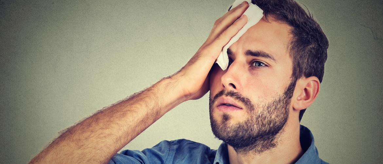 O que é suor por estresse?